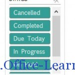 office excel 2013 to do list