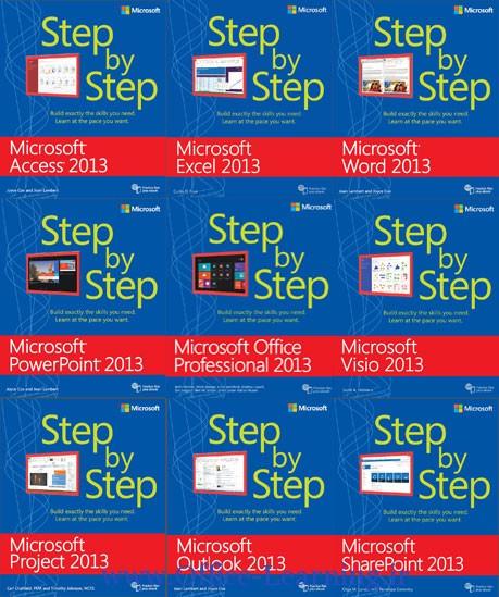 دانلود office-2013-step by step-آموزش گام به گام آفیس