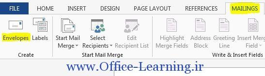 Mailings Envelopes
