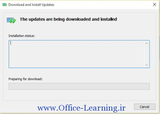 Download and install Persian language pack