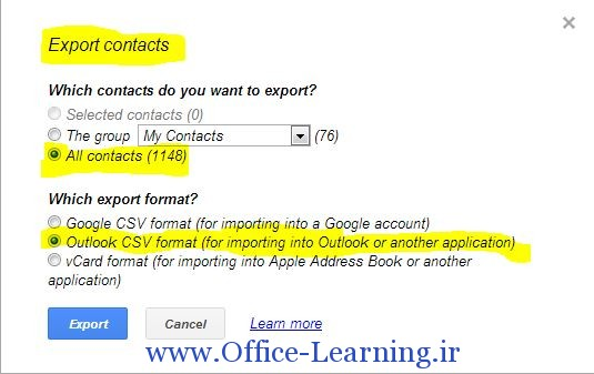 gmail-Contacts-export-to-csv