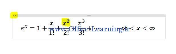 فرمول های آماده در وان نوت