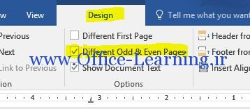 Odd Or Even Pages