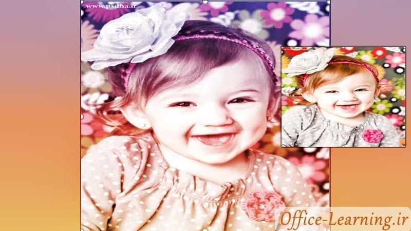 آموزش افزودن افکت و فرمت به تصاویر پاورپوینت-Format Effect PowePoint