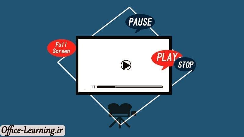 آموزش کار کردن با ویدیو کلیپ ها در پاورپوینت-PowerPoint Playback