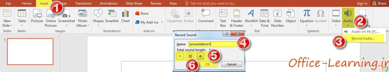 PowerPoint Audio