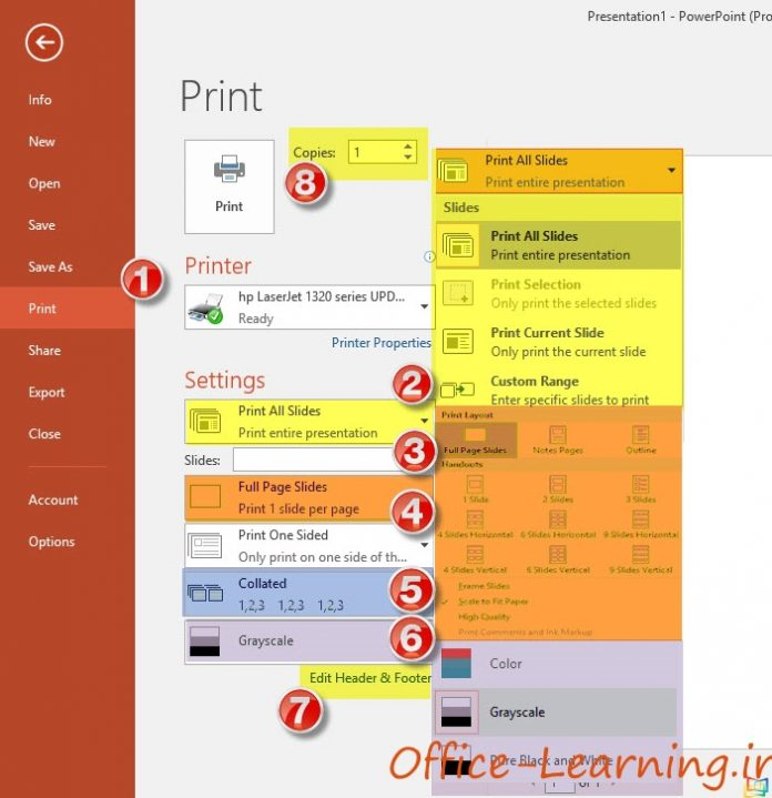 PowerPoint Presentation Print