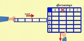 ایجاد و حذف ستون و ردیف در وان نوت-OneNote Add Delete Row Column