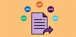 خروجی گرفتن از بخش ها،صفحات و دفترچه های وان نوت-Export Page Section NoteBook