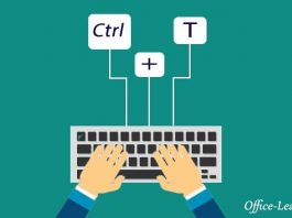 کلید های میانبر در وان نوت -Keyboard shortcuts in OneNote